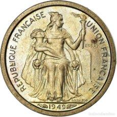 Monedas antiguas de Europa: MONEDA, OCEANÍA FRANCESA, 50 CENTIMES, 1949, ESSAI, SC, COBRE - NÍQUEL, KM:E2. Lote 195442368