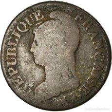Monedas antiguas de Europa: MONEDA, FRANCIA, DUPRÉ, 5 CENTIMES, 1799, LILLE, BC, BRONCE, KM:640.11. Lote 195442541