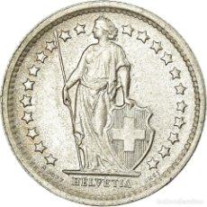 Monedas antiguas de Europa: MONEDA, SUIZA, 1/2 FRANC, 1966, BERN, EBC+, PLATA, KM:23. Lote 195442756