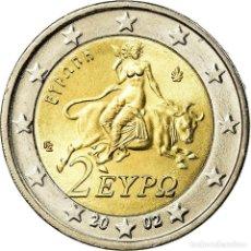 Monedas antiguas de Europa: GRECIA, 2 EURO, 2002, EBC, BIMETÁLICO, KM:188. Lote 195442677