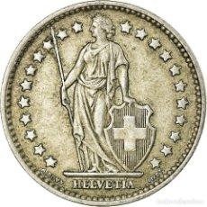 Monedas antiguas de Europa: MONEDA, SUIZA, FRANC, 1958, BERN, MBC+, PLATA, KM:24. Lote 195443332