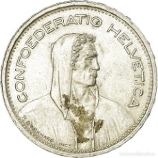 Monedas antiguas de Europa: MONEDA, SUIZA, 5 FRANCS, 1954, BERN, EBC, PLATA, KM:40. Lote 195443362
