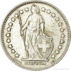 Monedas antiguas de Europa: MONEDA, SUIZA, 1/2 FRANC, 1952, BERN, MBC+, PLATA, KM:23. Lote 195443305