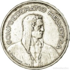 Monedas antiguas de Europa: MONEDA, SUIZA, 5 FRANCS, 1932, BERN, MBC, PLATA, KM:40. Lote 195443360