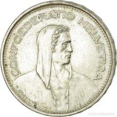 Monedas antiguas de Europa: MONEDA, SUIZA, 5 FRANCS, 1966, BERN, MBC, PLATA, KM:40. Lote 195443687