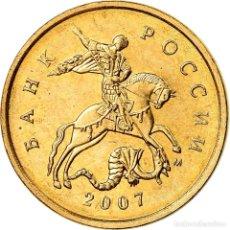 Monedas antiguas de Europa: MONEDA, RUSIA, 10 KOPEKS, 2007, SAINT-PETERSBURG, MBC, TOMBAC CHAPADO EN ACERO. Lote 195445866