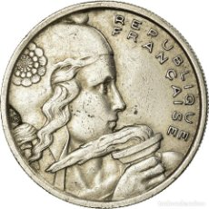 Monedas antiguas de Europa: MONEDA, FRANCIA, COCHET, 100 FRANCS, 1956, BEAUMONT - LE ROGER, MBC, COBRE -. Lote 195445872