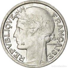 Monedas antiguas de Europa: MONEDA, FRANCIA, MORLON, 50 CENTIMES, 1946, BEAUMONT - LE ROGER, EBC+, ALUMINIO. Lote 195447646