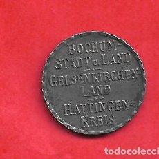 Monedas antiguas de Europa: NOTGELD, ALEMANIA, BOCHUM (WESTFALIA) 25 PFG 1918 HIERRO. Lote 195450638