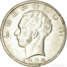 Monedas antiguas de Europa: MONEDA, BÉLGICA, 50 FRANCS, 50 FRANK, 1939, MBC, PLATA, KM:122.2. Lote 195465372