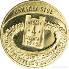 Monedas antiguas de Europa: POLONIA 2 ZLOTYH 2009 ELECCIONES 4 DE JUNIO DE 1989 UNC. Lote 195509753
