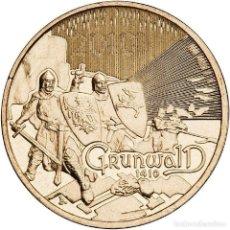 Monedas antiguas de Europa: POLONIA 2 ZLOTYH 2010 GRUNWALD UNC. Lote 195509836