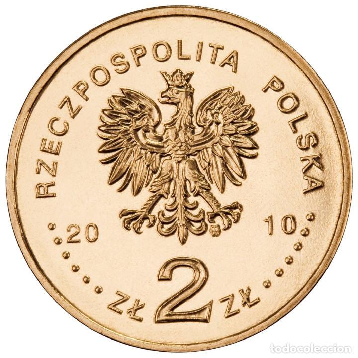 Monedas antiguas de Europa: Polonia 2 zlotyh 2010 Auschwitz-Birkenau unc - Foto 2 - 195509853