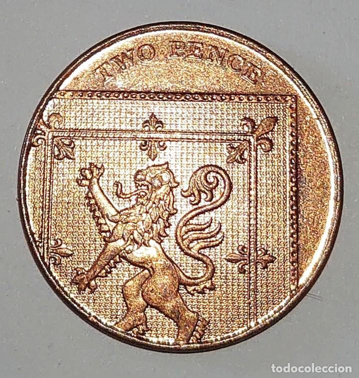 GRAN BRETAÑA. 2 PENNY 2008. SC. (Numismática - Extranjeras - Europa)