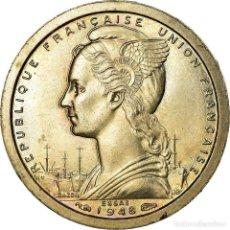 Monedas antiguas de Europa: MONEDA, SAN PEDRO & MIQUELÓN, FRANC, 1948, PARIS, FDC, COBRE - NÍQUEL, KM:E1A. Lote 195510860