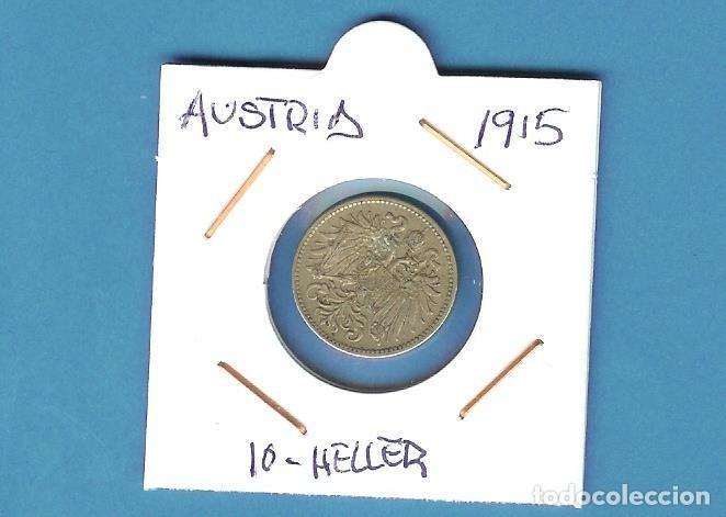 AUSTRIA. 10 HELLER. 1915 (Numismática - Extranjeras - Europa)