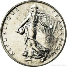 Monedas antiguas de Europa: MONEDA, FRANCIA, SEMEUSE, FRANC, 1997, PARIS, FDC, NÍQUEL, KM:925.1. Lote 195514351