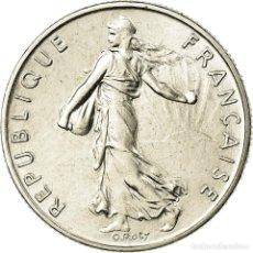 Monedas antiguas de Europa: MONEDA, FRANCIA, SEMEUSE, 1/2 FRANC, 1987, PARIS, FDC, NÍQUEL, KM:931.1. Lote 195514768