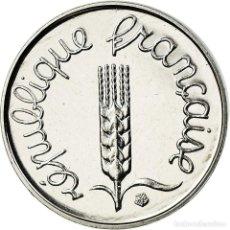 Monedas antiguas de Europa: MONEDA, FRANCIA, ÉPI, CENTIME, 1990, PARIS, FDC, ACERO INOXIDABLE, KM:928. Lote 195516476