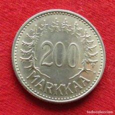 Monedas antiguas de Europa: FINLANDIA 200 MARKKAA 1957. Lote 195518735