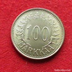 Monedas antiguas de Europa: FINLANDIA 100 MARKKAA 1958. Lote 195518796