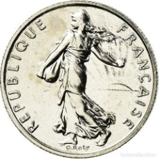 Monedas antiguas de Europa: MONEDA, FRANCIA, SEMEUSE, 1/2 FRANC, 2001, PARIS, FDC, NÍQUEL, KM:931.2. Lote 195523805
