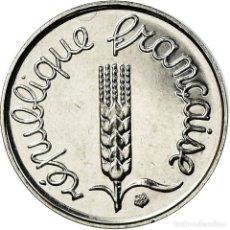 Monedas antiguas de Europa: MONEDA, FRANCIA, ÉPI, CENTIME, 2001, PARIS, FDC, ORO, KM:928A, GADOURY:91. Lote 195523857