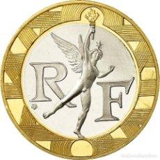 Monedas antiguas de Europa: MONEDA, FRANCIA, GÉNIE, 10 FRANCS, 1995, PARIS, PROOF, FDC, ALUMINIO - BRONCE. Lote 195523980