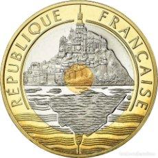 Monedas antiguas de Europa: MONEDA, FRANCIA, MONT SAINT MICHEL, 20 FRANCS, 2001, PARIS, PROOF, FDC. Lote 195524000