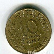 Monedas antiguas de Europa: FRANCIA 10 CENTIMES 1986 - SE ENVIA LA MONEDA DE LAS IMAGENES-. Lote 195525001