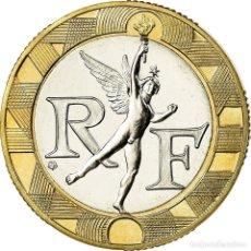 Monedas antiguas de Europa: MONEDA, FRANCIA, GÉNIE, 10 FRANCS, 1988, PARIS, FDC, BIMETÁLICO, KM:964.1. Lote 195526570
