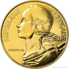 Monedas antiguas de Europa: MONEDA, FRANCIA, MARIANNE, 20 CENTIMES, 1990, PARIS, FDC, ALUMINIO - BRONCE. Lote 195530041