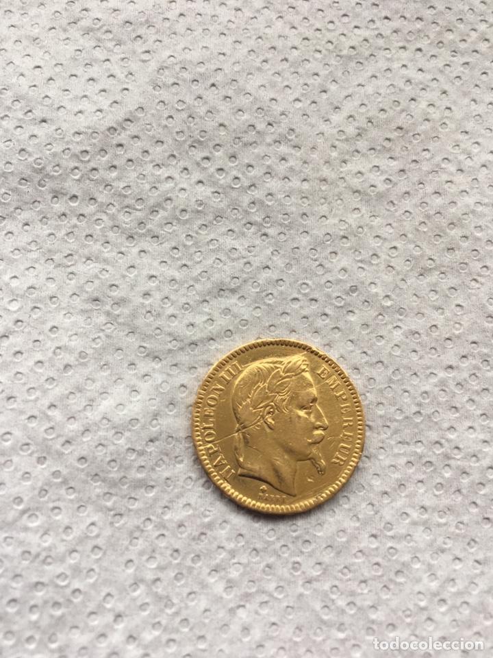 20 FRANCOS NAPOLEÓN III FRANCIA 1863 ORO. (Numismática - Extranjeras - Europa)