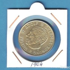 Moedas antigas da Europa: PLATA-SUECIA. 2 KRONER 1964. 14 GRAMOS DE LEY 0,400. Lote 195856590