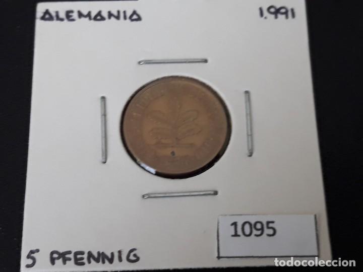 ALEMANIA 5 PFENNIG 1991 J (Numismática - Extranjeras - Europa)