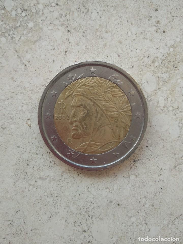 VENDO MONEDA DE 2,00€ ITALIANA CON LA CARA DEL INDIO.(NEGOCIABLE). (Numismática - Extranjeras - Europa)