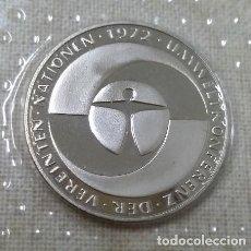 Monedas antiguas de Europa: 5 MARCOS ALEMANIA 1982 CONMEMORATIVA -CONFERENCIA MEDIO AMBIENTE NACIONES UNIDAS- SIN CIRCULAR. Lote 41411151