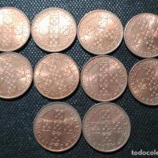 Monedas antiguas de Europa: LOTE 10 MONEDA DE 1 ESCUDO DE PORTUGAL DE 1970, S/C SIN CIRCULAR ¡¡ LIQUIDACION COLECCION !!. Lote 197633952