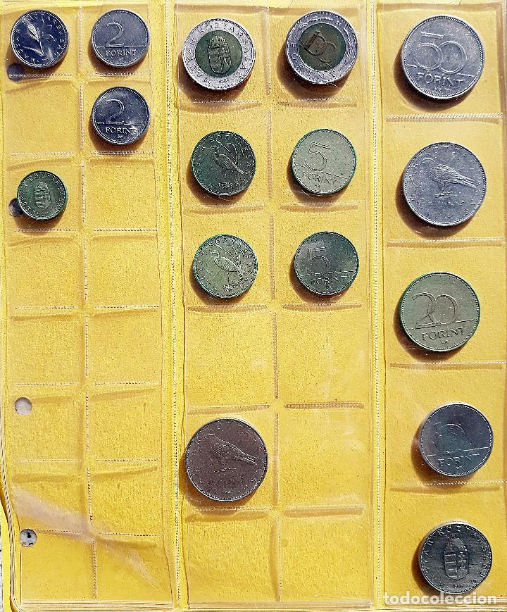 COLECCIÓN DE 16 MONEDAS DE LA REPÚBLICA DE HUNGRÍA. AÑOS 90 (Numismática - Extranjeras - Europa)
