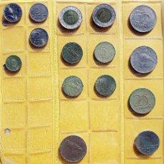 Monedas antiguas de Europa: COLECCIÓN DE 16 MONEDAS DE LA REPÚBLICA DE HUNGRÍA. AÑOS 90. Lote 197882721