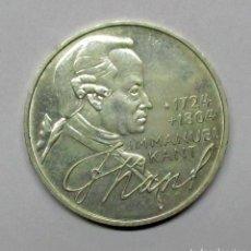 Monedas antiguas de Europa: ALEMANIA, 1974 D. MONEDA DE PLATA DE CINCO MARCOS, DE LA CECA DE MUNICH. LOTE 2461. Lote 239130350