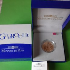 Monedas antiguas de Europa: ORO 920 REPÚBLICA FRANCESA 2002 20 EUROS VÍCTOR HUGO / GAVROCHE 17 G. 1/2 ONZA MONNAIE PARIS CER. Lote 198343318