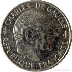 Monedas antiguas de Europa: FRANCIA. 1 FRANCO DE 1988 (30 ANIVERSARIO DE LA QUINTA REPÚBLICA). CHARLES DE GALLE. (023).. Lote 198925083