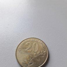 Monete antiche di Europa: 20 DRACMA 2000 GRECIA. Lote 199033552