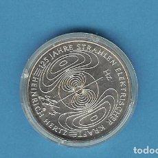 Monedas antiguas de Europa: ALEMANIA. 10 EUROS 2013-G. CAMPOS ELECTROMAGNÉTICOS. NIQUEL . Lote 199069865