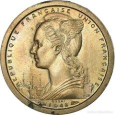Monedas antiguas de Europa: MONEDA, ÁFRICA ECUATORIAL FRANCESA, FRANC, 1948, PARIS, ESSAI, EBC, COBRE -. Lote 199083396