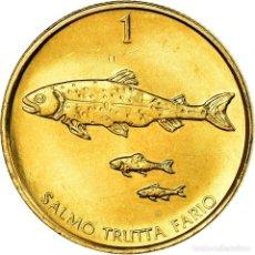 Monedas antiguas de Europa: MONEDA, ESLOVENIA, TOLAR, 2004, SC, NÍQUEL - LATÓN, KM:4. Lote 199083418