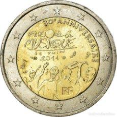 Monedas antiguas de Europa: FRANCIA, 2 EURO, FÊTE MUSIQUE, 2011, MBC, BIMETÁLICO, KM:1789. Lote 199083453