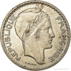 Monedas antiguas de Europa: MONEDA, FRANCIA, TURIN, 10 FRANCS, 1947, BEAUMONT - LE ROGER, EBC+, COBRE -. Lote 199083630