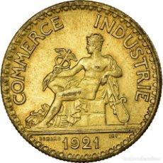 Monedas antiguas de Europa: MONEDA, FRANCIA, CHAMBRE DE COMMERCE, 50 CENTIMES, 1921, EBC, ALUMINIO - BRONCE. Lote 199083782